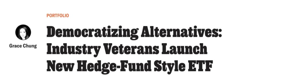 Institutional investor article