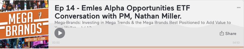 Mega Brands podcast Nathan Miller Emles
